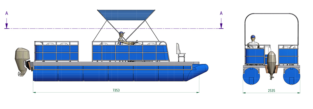 Mazasis laivas P7.5x.2.5